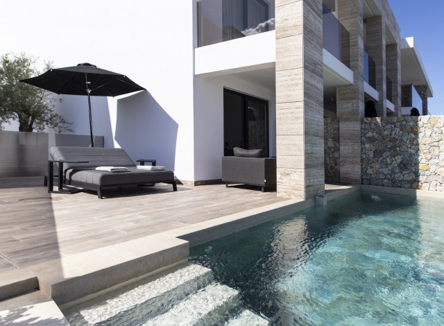 DESIGN SUITES WITH PRIVATE POOL